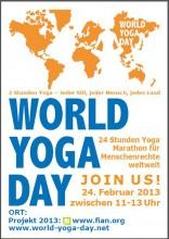 Welt-Yoga-Tag | World Yoga Day | Sonntag, 24. Februar 2013 | yoga guide