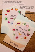 Der All-Jahres-Saisonkalender - Obst- u Gemüsesorten | yoga guide Tipp