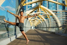 """Workshop mit Bruce Chung 