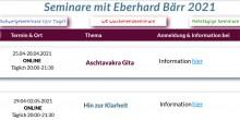 Online-Serien mit Eberhard Bärr   yogaguide