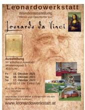Leonardowerkstatt Wanderausstellung Linz   yogaguide Tipp
