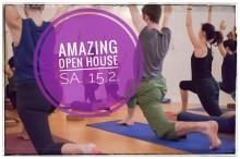 Amazing Yoga Vienna Open House 15.2.2020 | yogaguide