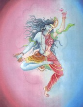 Shiva_and_Shakti_cosmic_union | yogaguide | Yoga Guide