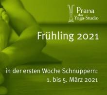 Start Prana Yoga Frühling 2021 | yogaguide