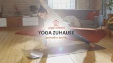 Mit YogaMeHome kostenlos zu Hause Yoga üben   yogaguide