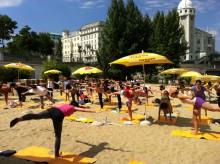 Yoga am Strand Wien | Juli bis Sept. 2021