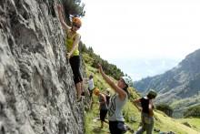 """KletterYOGI auf der Muttekopfhütte""""   15.-18. August 2017   yogaontherock.at"""