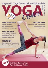 Kostenlose Yoga-Zeitschrift YOGAVision ist erschienen   yogaguide
