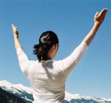 Yoga und Berge Shirin Ourmutchi im Haus Hirt  | Yoga Guide