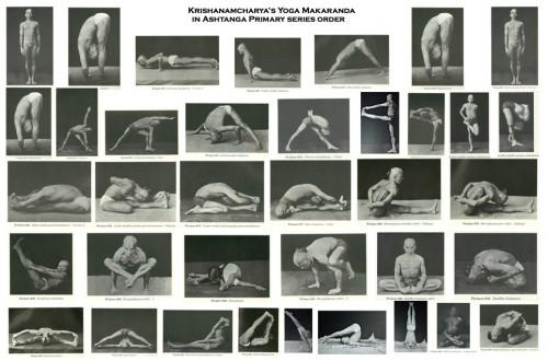 Sri T. Krishnamacharya und der Ashtanga Primary Serie inold order.