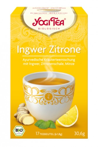 Yogi Tea Ingwer Orange mit Vanille | yogaguide