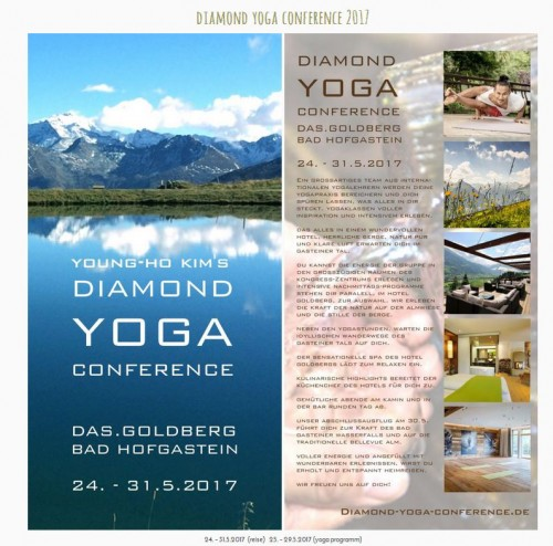 diamond yoga conference young ho kim | yogaguide