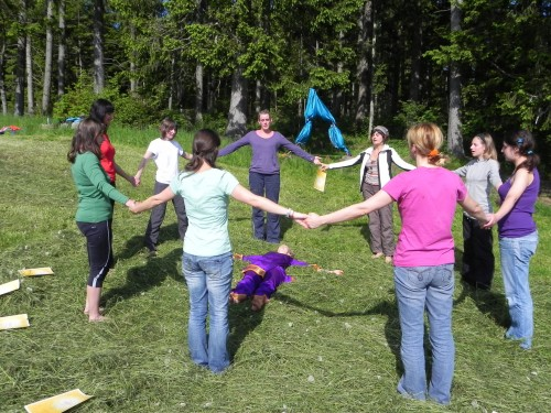 Kinderyoga ausbildung ab 25 mit sibylle sch ppel for Raumgestaltung yoga