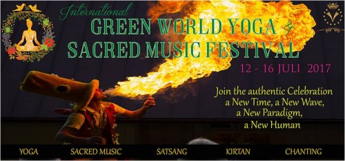 Green World Yoga Festival Sweden | yogaguide